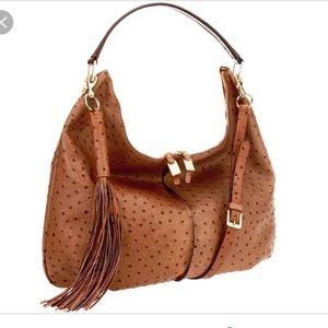 Gili ostrich purse